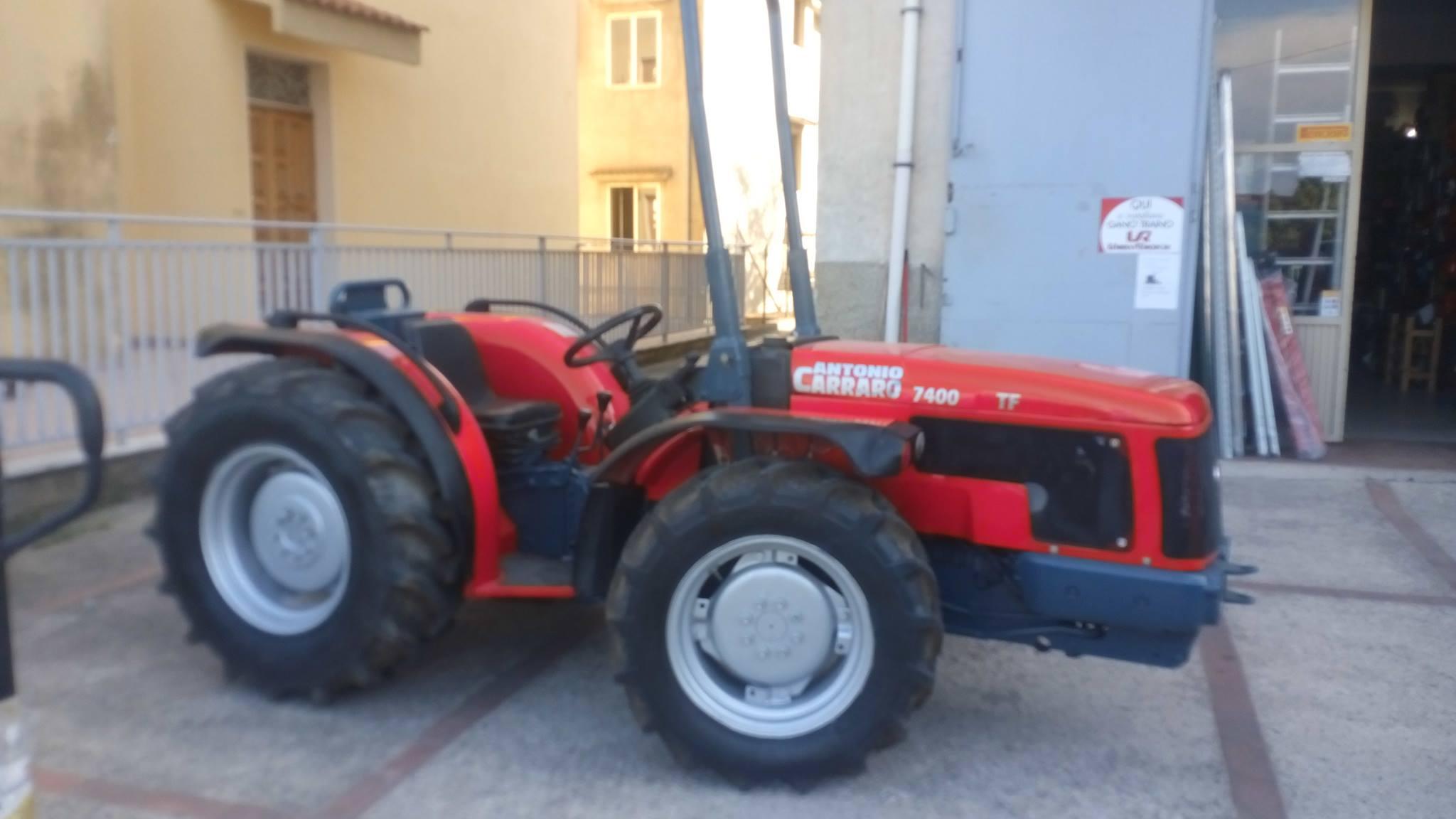 Vendita online macchine agricole e attrezzature per l for Trattori usati antonio carraro 7500